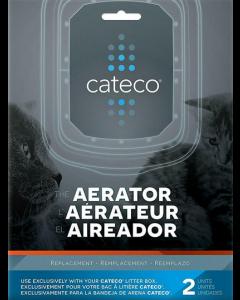 Aérateur de remplacement pour bac à litière Cateco
