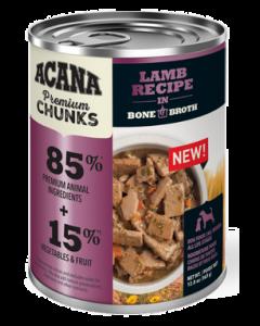 Conserve pour chiens à l'agneau avec bouillon d'os, Acana