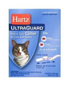 Anti puce, collier pour les puces et les tiques sur chat, Hartz