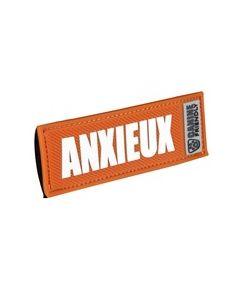 étiquette anxieux