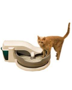 litiere électrique autonettoyante pour chat