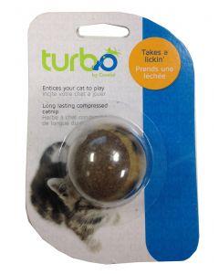 Balle en herbe à chat compacté, longue durée Turbo Coastal
