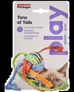 Jouet pour chats, balle de corde avec herbe à chat, Petstages