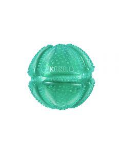 Balle jouet pour la dentition des chiens Kong Squeezz, moyenne
