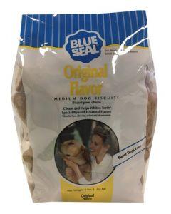 Biscuit pour chien forme d'os au poulet blue seal