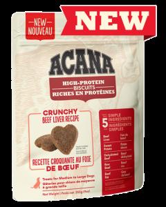 Biscuits pour grands chiens au foie de bœuf, Acana