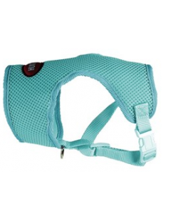Harnais confort bleu pour chiens 3 en 1, extra-small