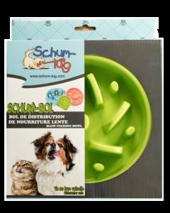 Bol ralentisseur pour animaux fan vert, Schum-tug