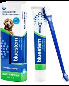 Dentifrice à la menthe vanillée pour chiens, Bluestem