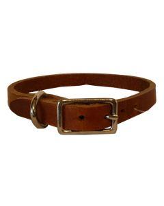 Collier de Cuir pour chien Buffalo Brun