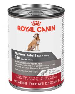 Conserve chiens âgé pâté en sauce Royal canin 385g