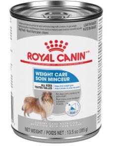 Conserve soin minceur pour chiens pâté en sauce Royal Canin, 385g