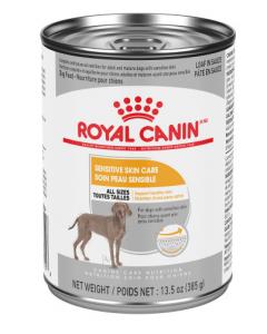 Conserve soin peau sensible chien pâté en sauce Royal Canin, 385g
