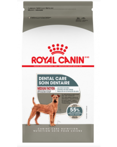 Nourriture soin dentaire Royal Canin chien moyen