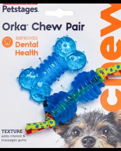 Ensemble jouets dentitions pour chiots et petits chiens, Petstages