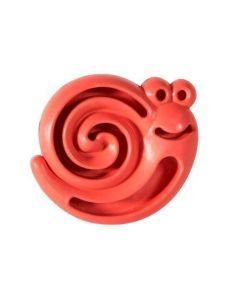 Distributeur escargot rouge robuste pour gateries pour chiots Hero