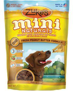 Gâterie tendre Mini Naturals au beurre d'arachide chien Zukes's