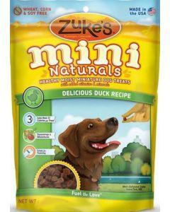 Gâterie tendre Mini Naturals au Canard pour chien Zukes's