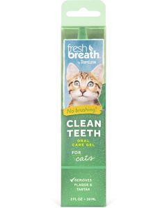 Gel nettoyant pour les dents Fresh breath Tropiclean pour chat 59ml