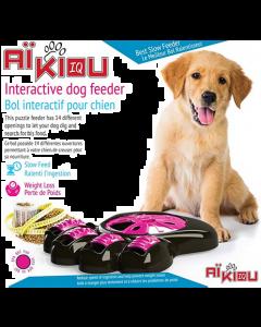 Bol interactif pour chiens Aïkiou