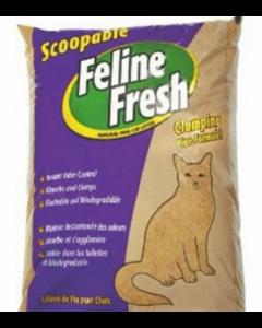 Litière de pin pour chats, Feline Fresch