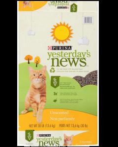 Litière de papier recyclé pour chats, Purina Yesterday's News