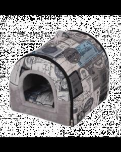 Lilt maison pour chats, bleu et gris, PetPals