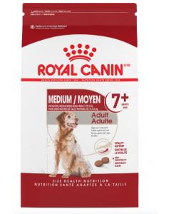 nourriture pour chien moyen adulte 7+ Royal Canin