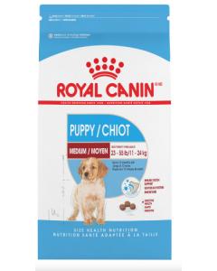 Nourriture pour chiot moyen Royal canin