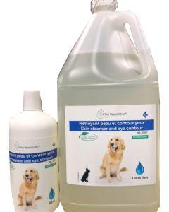 Nettoyant naturel pour yeux et oreille de chien