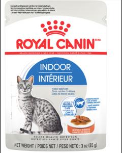 Pochette émincés en sauce pour chats d'intérieur, Royal Canin 85g