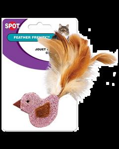 Jouet pour chats oiseau plumes, Feather Frenzy Spot