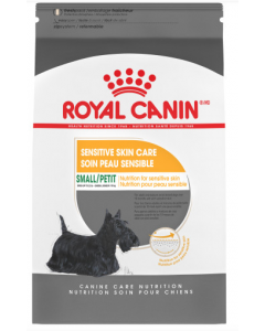Nourriture soin peau sensible Royal Canin petit chien