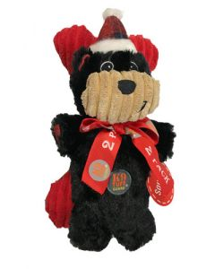 Peluche Noël ourson noir pour chien Charmingpet