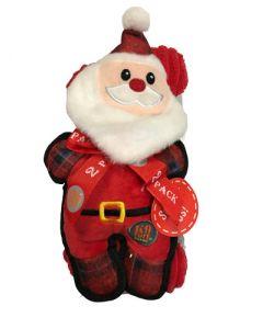 Peluche Père Noël avec os pour chien Charmingpet