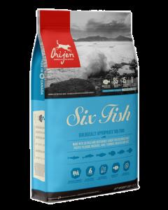Nourriture pour chiens six poissons, Orijen