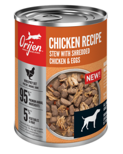 Conserve pour chiens adultes de ragoût au poulet, Orijen