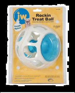 Distributeur à gâteries pour chiens, Rockin Treat Ball, JW