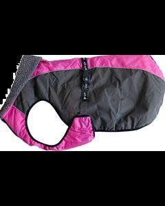 Manteau d'hiver Chinook Shedrow K9 rose pour chien