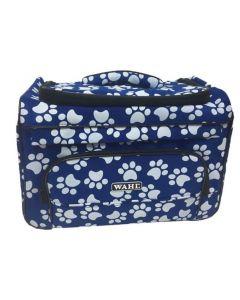 Sac de toilettage Wahl bleu pour le rangement d'outils de toilettage