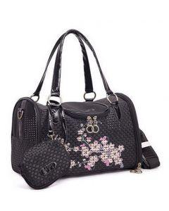 sac de transport pour chien ou chat noir
