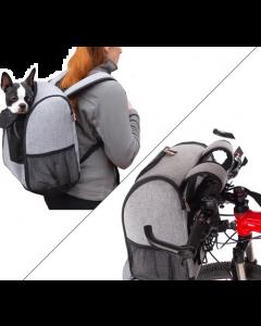 Transporteur pour animaux sac à dos et vélo K&H