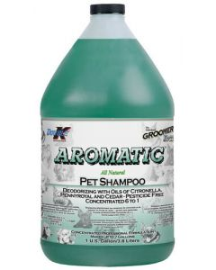 Shampoing pour animaux, Aromatic double K