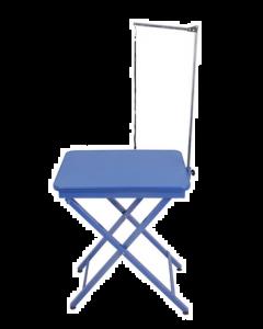 Table bleu de toilettage pliante Shernbao, 23,5'' X 17,5'' support et courroie inclus