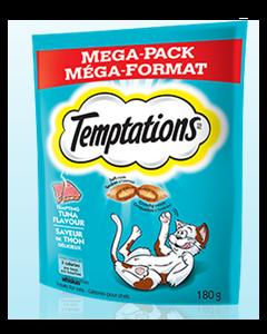 Gâteries pour chats à saveur de thon Temptations 350g