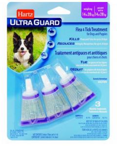 Traitement contre les puces et les tiques pour chiens et chiots