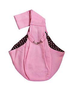 sac transporteur Bandoulière rose pour chiens
