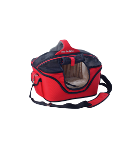 Transporteur luxe Cozy Carrier rouge One for Pets