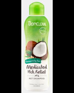 Shampoing pour animaux à l'avoine et au théier, Tropiclean 592 ml