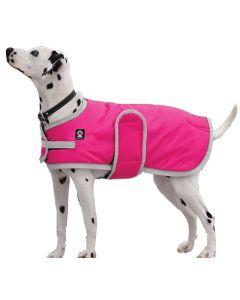 Manteau d'hiver pour chien Tundra Shedrow K9 Rose